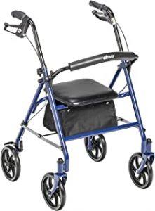 Best 4 wheel walkers for seniors